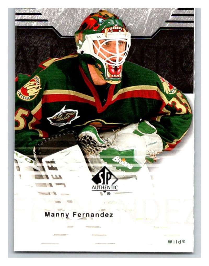 2003-04 SP Authentic #42 Manny Fernandez Mint
