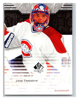 2003-04 SP Authentic #45 Jose Theodore Mint
