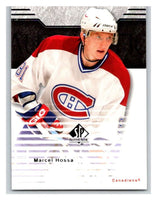 2003-04 SP Authentic #46 Marcel Hossa Mint