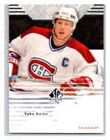 2003-04 SP Authentic #48 Saku Koivu Mint