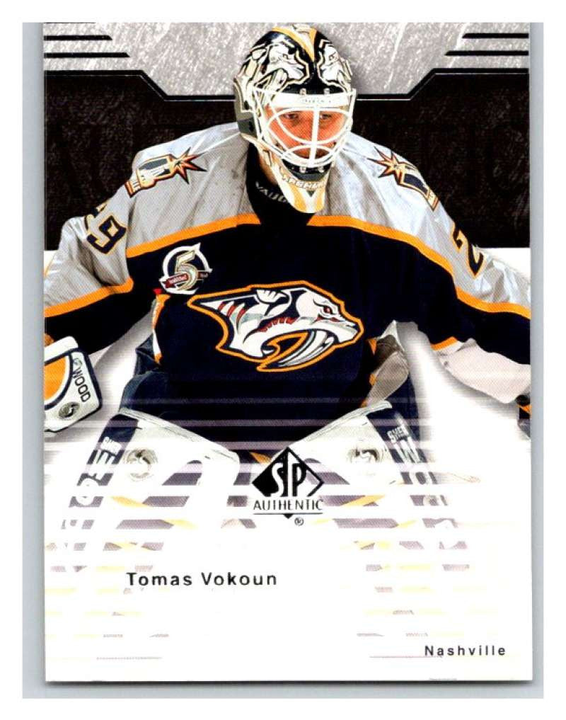 2003-04 SP Authentic #50 Tomas Vokoun Mint