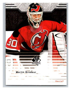 2003-04 SP Authentic #51 Martin Brodeur Mint