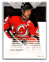 2003-04 SP Authentic #54 Scott Stevens Mint
