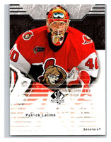 2003-04 SP Authentic #63 Patrick Lalime Mint