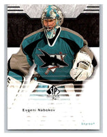 2003-04 SP Authentic #71 Evgeni Nabokov Mint