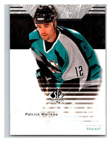 2003-04 SP Authentic #72 Patrick Marleau Mint