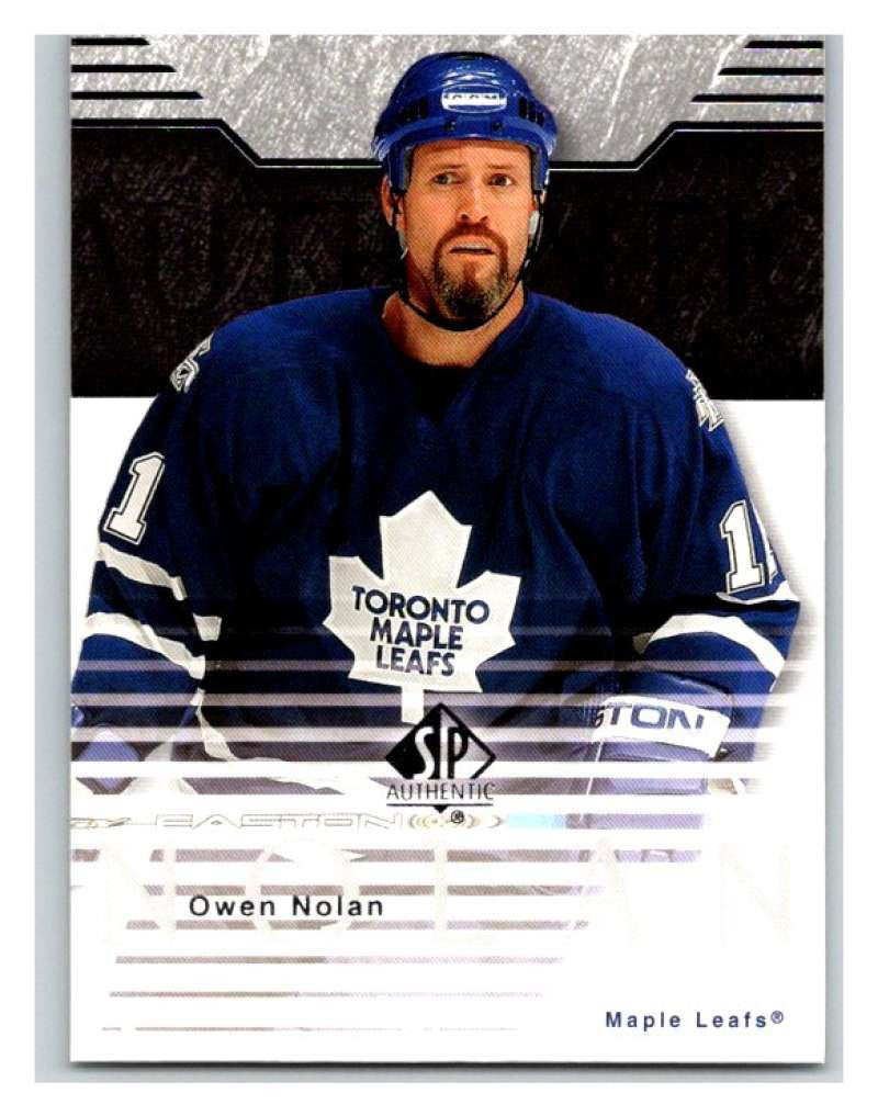 2003-04 SP Authentic #83 Owen Nolan Mint