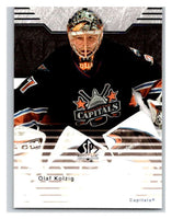 2003-04 SP Authentic #89 Olaf Kolzig Mint