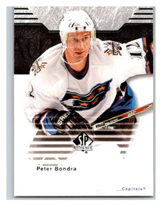 2003-04 SP Authentic #90 Peter Bondra Mint