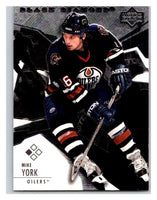 2003-04 Black Diamond #1 Mike York Mint UD