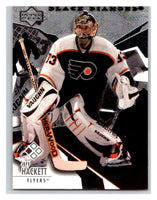 2003-04 Black Diamond #7 Jeff Hackett Mint UD