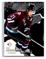 2003-04 Black Diamond #36 Peter Forsberg Mint UD