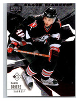 2003-04 Black Diamond #38 Daniel Briere Mint UD