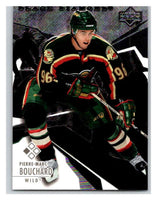 2003-04 Black Diamond #70 Pierre-Marc Bouchard Mint UD
