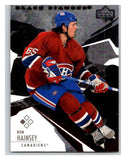 2003-04 Black Diamond #76 Ron Hainsey Mint UD