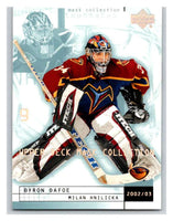 (HCW) 2002-03 UD Mask Collection #3 Milan Hnilicka/Byron Dafoe Thrashers