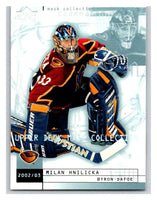 (HCW) 2002-03 UD Mask Collection #4 Milan Hnilicka/Byron Dafoe Thrashers