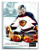 (HCW) 2002-03 UD Mask Collection #7 Byron Dafoe/Pasi Nurminen Thrashers