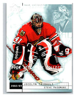 (HCW) 2002-03 UD Mask Collection #19 Jocelyn Thibault/Steve Passmore
