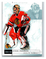 (HCW) 2002-03 UD Mask Collection #20 Jocelyn Thibault/Steve Passmore
