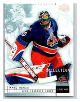(HCW) 2002-03 UD Mask Collection #24 Jean-Francois Labbe/Marc Denis