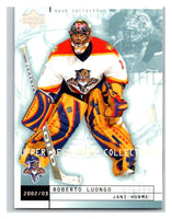 (HCW) 2002-03 UD Mask Collection #37 Roberto Luongo/Jani Hurme Panthers