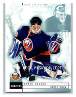 (HCW) 2002-03 UD Mask Collection #53 Chris Osgood/Garth Snow NY Islanders