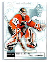(HCW) 2002-03 UD Mask Collection #61 Robert Esche/Roman Cechmanek Flyers