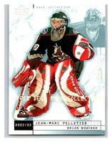 (HCW) 2002-03 UD Mask Collection #66 Jean-Marc Pelletier/Brian Boucher