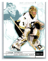 (HCW) 2002-03 UD Mask Collection #68 Johan Hedberg/Jean-Sebastien Aubin