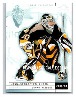 (HCW) 2002-03 UD Mask Collection #69 Johan Hedberg/Jean-Sebastien Aubin