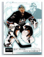 (HCW) 2002-03 UD Mask Collection #88 Craig Billington/Olaf Kolzig Capitals