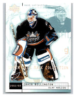 (HCW) 2002-03 UD Mask Collection #89 Craig Billington/Olaf Kolzig Capitals