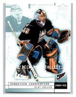 (HCW) 2002-03 UD Mask Collection #90 Sebastien Charpentier/Olaf Kolzig Capitals