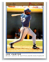 1991 O-Pee-Chee Premeir #20 Joe Carter Blue Jays MLB Mint