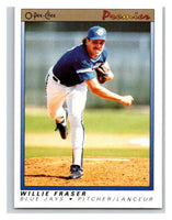 1991 O-Pee-Chee Premeir #46 Willie Fraser Blue Jays MLB Mint