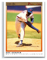 1991 O-Pee-Chee Premeir #55 Dwight Gooden Mets MLB Mint