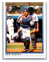 1991 O-Pee-Chee Premeir #61 Ron Hassey Expos MLB Mint
