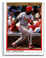 1991 O-Pee-Chee Premeir #72 Ray Lankford Cardinals MLB Mint