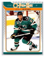 2009-10 O-Pee-Chee #631 Scott Nichol Sharks Mint NHL