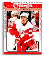 2009-10 O-Pee-Chee #637 Drew Miller Red Wings Mint NHL