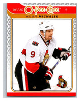 2009-10 O-Pee-Chee #638 Milan Michalek Senators Mint NHL