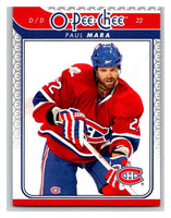 2009-10 O-Pee-Chee #640 Paul Mara Canadiens Mint NHL