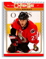 2009-10 O-Pee-Chee #651 Alex Kovalev Senators Mint NHL
