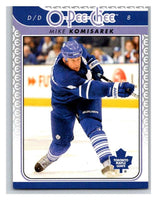 2009-10 O-Pee-Chee #654 Mike Komisarek Maple Leafs Mint NHL