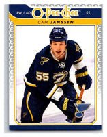 2009-10 O-Pee-Chee #663 Cam Janssen Blues Mint NHL