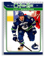 2009-10 O-Pee-Chee #665 Darcy Hordichuk Canucks Mint NHL