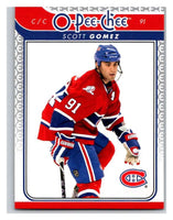 2009-10 O-Pee-Chee #670 Scott Gomez Canadiens Mint NHL