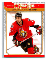 2009-10 O-Pee-Chee #686 Jonathan Cheechoo Senators Mint NHL