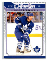 2009-10 O-Pee-Chee #694 Francois Beauchemin Maple Leafs Mint NHL
